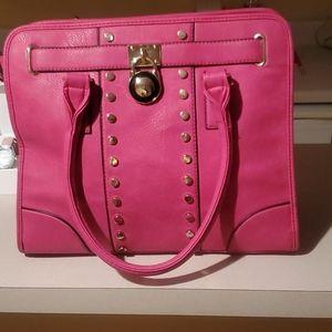 Nwot Pink Tote!